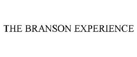 THE BRANSON EXPERIENCE