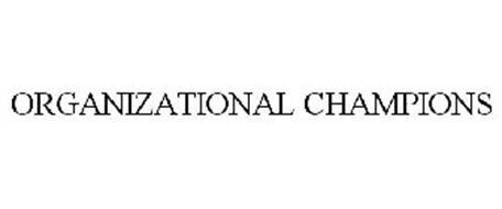 ORGANIZATIONAL CHAMPIONS