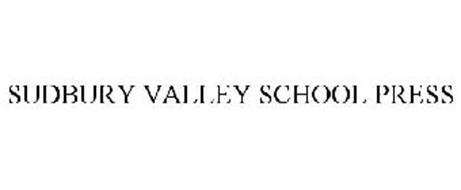 SUDBURY VALLEY SCHOOL PRESS