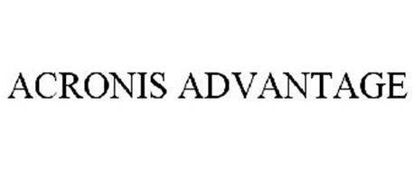 ACRONIS ADVANTAGE