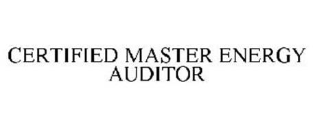 CERTIFIED MASTER ENERGY AUDITOR