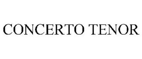 CONCERTO TENOR
