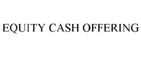 EQUITY CASH OFFERING