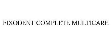 FIXODENT COMPLETE MULTICARE
