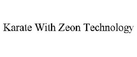 KARATE WITH ZEON TECHNOLOGY