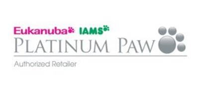 EUKANUBA IAMS PLATINUM PAW AUTHORIZED RETAILER
