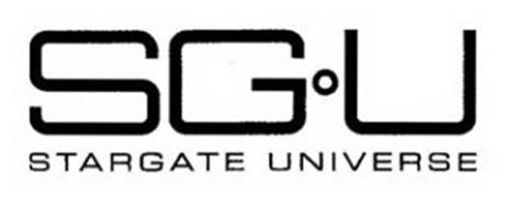 S G U STARGATE UNIVERSE