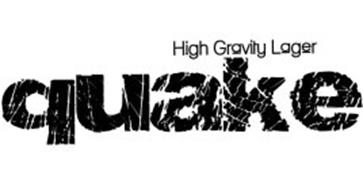 QUAKE HIGH GRAVITY LAGER