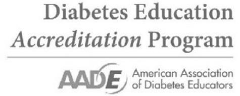 DIABETES EDUCATION ACCREDITATION PROGRAM AADE AMERICAN ASSOCIATION OF DIABETES EDUCATORS