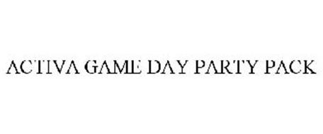 ACTIVA GAME DAY PARTY PACK