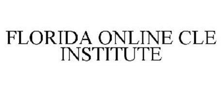FLORIDA ONLINE CLE INSTITUTE