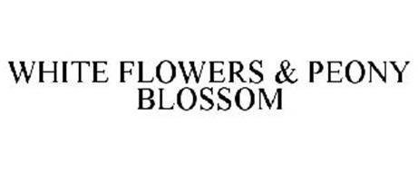 WHITE FLOWERS & PEONY BLOSSOM