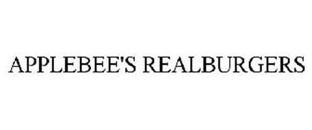 APPLEBEE'S REALBURGERS