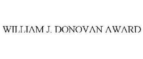 WILLIAM J. DONOVAN AWARD