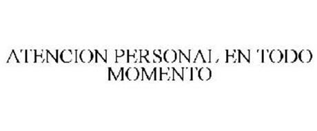 ATENCION PERSONAL EN TODO MOMENTO