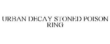 URBAN DECAY STONED POISON RING