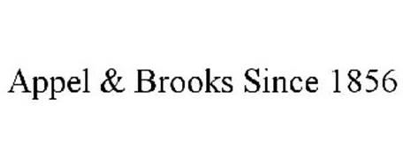 APPEL & BROOKS SINCE 1856