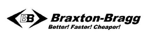 BB BRAXTON-BRAGG BETTER! FASTER! CHEAPER!