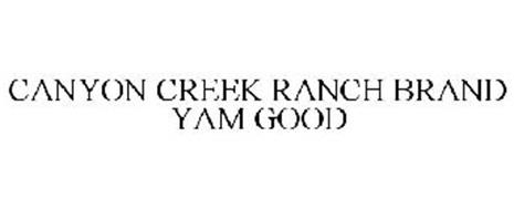 CANYON CREEK RANCH BRAND YAM GOOD