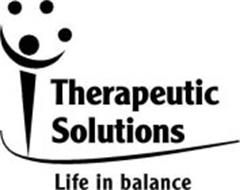 THERAPEUTIC SOLUTIONS LIFE IN BALANCE