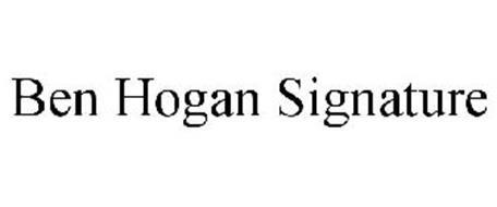 BEN HOGAN SIGNATURE