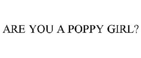 ARE YOU A POPPY GIRL?