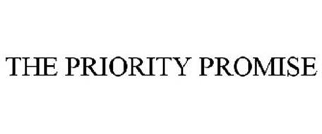 THE PRIORITY PROMISE