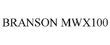 BRANSON MWX100