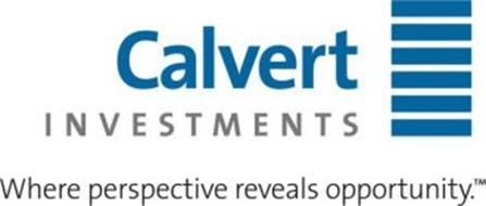 CALVERT INVESTMENTS WHERE PERSPECTIVE REVEALS OPPORTUNITY