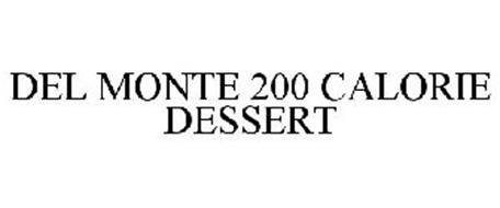 DEL MONTE 200 CALORIE DESSERT