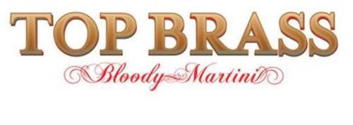 TOP BRASS BLOODY MARTINI