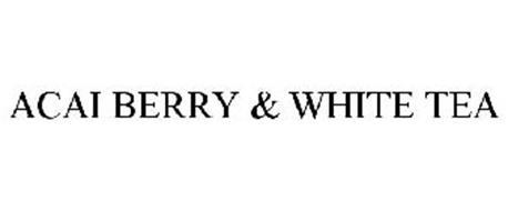 ACAI BERRY & WHITE TEA