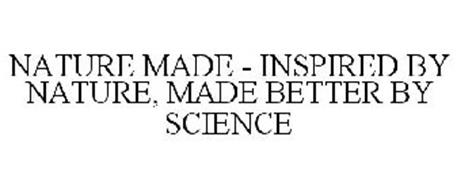 NATURE MADE - INSPIRED BY NATURE, MADE BETTER BY SCIENCE