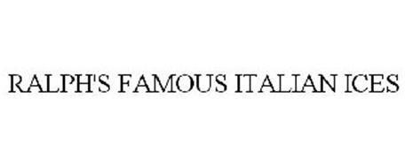 RALPH'S FAMOUS ITALIAN ICES