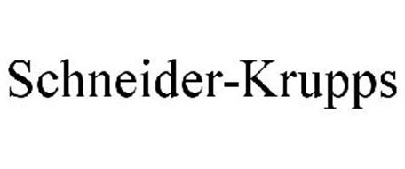 SCHNEIDER-KRUPPS