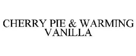 CHERRY PIE & WARMING VANILLA