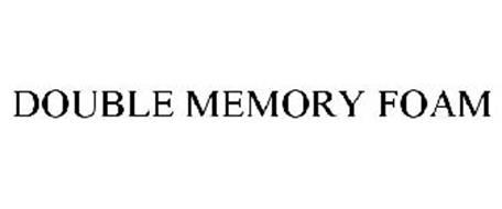 DOUBLE MEMORY FOAM