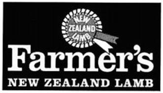 FARMER'S NEW ZEALAND LAMB NEW ZEALAND LAMB
