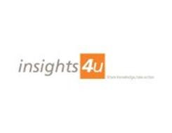 INSIGHTS 4U SHARE KNOWLEDGE, TAKE ACTION