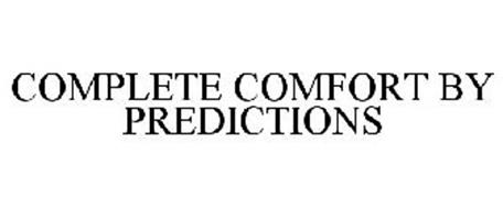 COMPLETE COMFORT BY PREDICTIONS