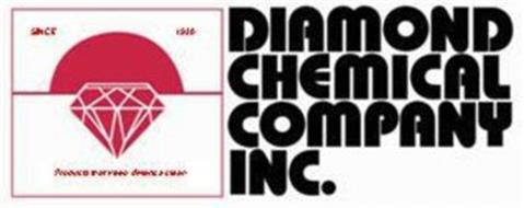 CHEMICAL COMPANY INC. SINCE 1930 PRODUCTS THAT KEEP AMERICA CLEAN