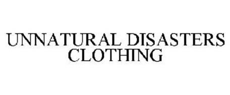 UNNATURAL DISASTERS CLOTHING