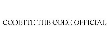 CODETTE THE CODE OFFICIAL