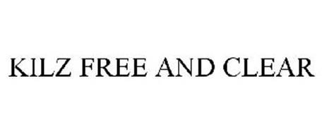 KILZ FREE AND CLEAR