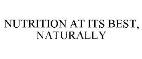 NUTRITION AT ITS BEST, NATURALLY