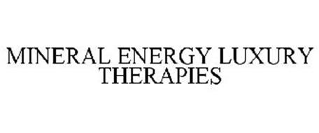 MINERAL ENERGY LUXURY THERAPIES
