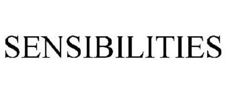 SENSIBILITIES