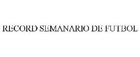 RECORD SEMANARIO DE FUTBOL