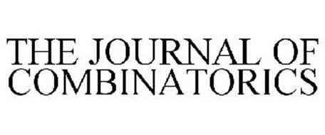 THE JOURNAL OF COMBINATORICS
