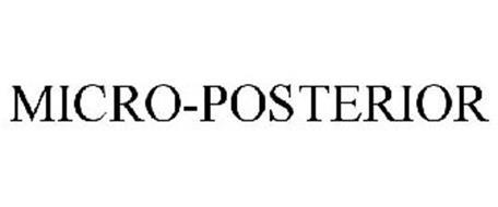 MICRO-POSTERIOR